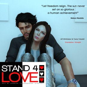 STAND4LOVE Alf Whittaker and Tania Tebaldi