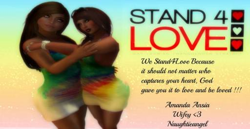 STAND4LOVE Amanda and NaughtieAngel