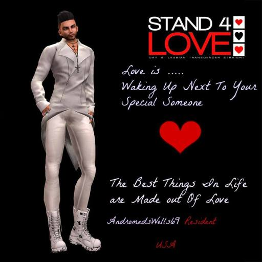 STAND4LOVE AndromedsWells69 Resident