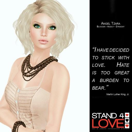 STAND4LOVE Angel Tzara