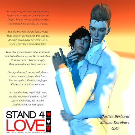 STAND4LOVE Bastien Berboral and Silvano Korobase