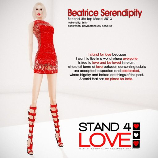 STAND4LOVE Beatrice Serendipity