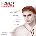 STAND4LOVE Caduceus Lorakeet