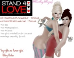 STAND4LOVE Caiti SerraBella and Kai Diamond