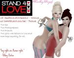 STAND4LOVE Caiti SerraBella and Kai Diamond