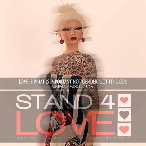 STAND4LOVE Chevia Johansson