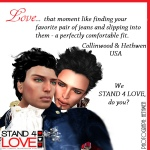 STAND4LOVE Collinwood and Heathwen Vertaus