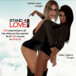 STAND4LOVE Delinda Dench and Stellie Hazelnut
