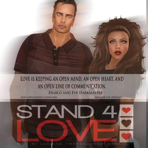 STAND4LOVE Diablo and Eve Darkmatter