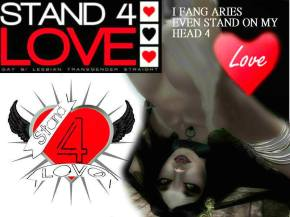 STAND4LOVE Fang Aries