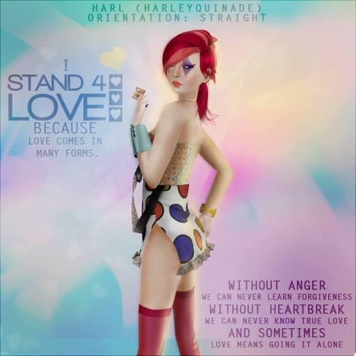 STAND4LOVE HARL HARLEYQUINADE
