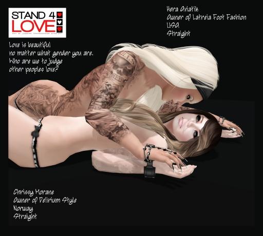 STAND4LOVE- Hera and Chrissy