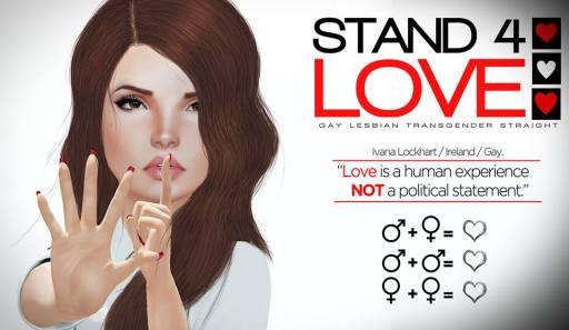 STAND4LOVE Ivana Lockhart