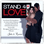 STAND4LOVE Jake and Queen