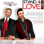 STAND4LOVE Justin Elias and Trey Bayn