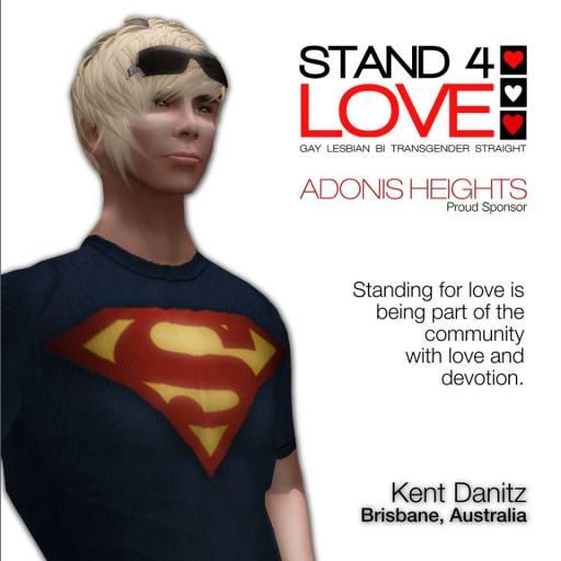 STAND4LOVE Kent Danitz