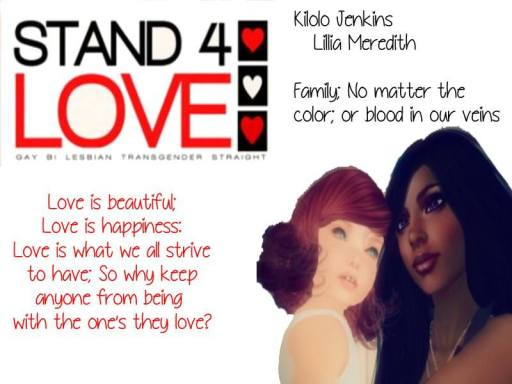 STAND4LOVE Kilolo Jenkins and Lillia Meredith