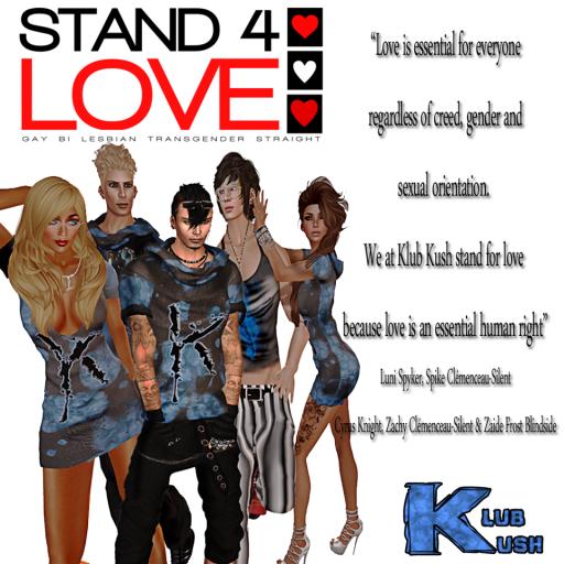 STAND4LOVE Klub Kush