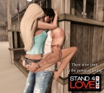 STAND4LOVE Landaree Levee and illargi Dover