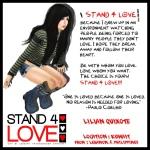 STAND4LOVE Lilian Quixote