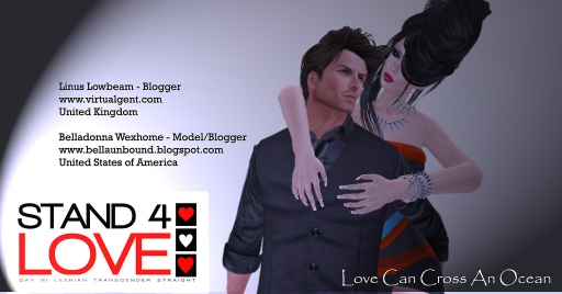 STAND4LOVE Linus Lowbeam and Belladonna Wexhome