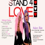 STAND4LOVE Makayla Bagley and Malanox Blake