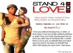 STAND4LOVE Mikey Hax and Sidney Hax