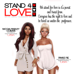 STAND4LOVE NicoiaPinkie