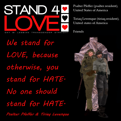 STAND4LOVE Psalter & Tiriaq