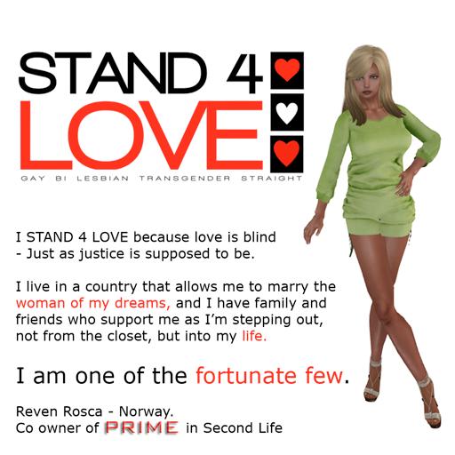 STAND4LOVE Reven Rosca