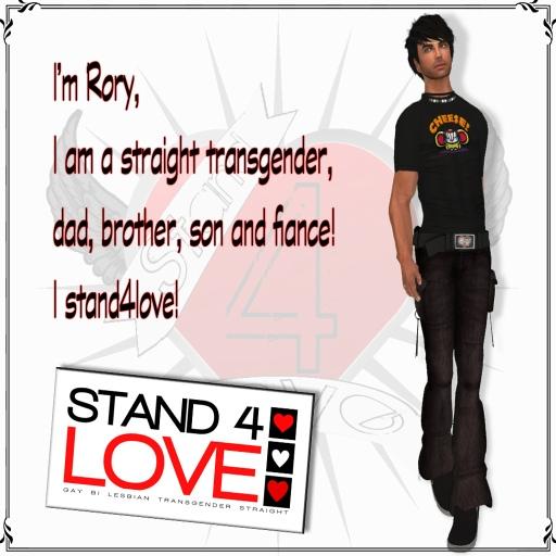 STAND4LOVE Rory by JENJEN Sommerfleck