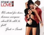 STAND4LOVE Sands Leavitt and Jade Spectre