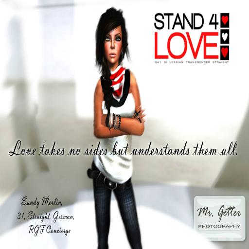 STAND4LOVE Sandy Merlin