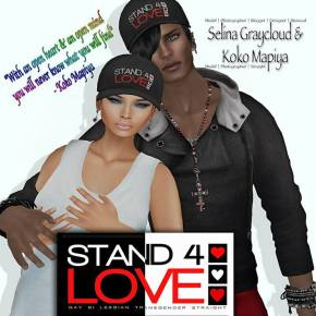 STAND4LOVE Selina Graycloud and Koko Mapiya
