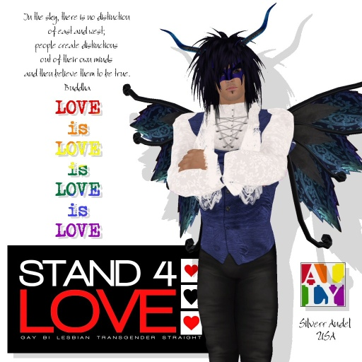 STAND4LOVE Silverr Andel