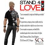 Stand4Love Spike Clemenceau-Silent