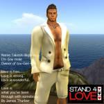 STAND4LOVE Takeshi Bigbear