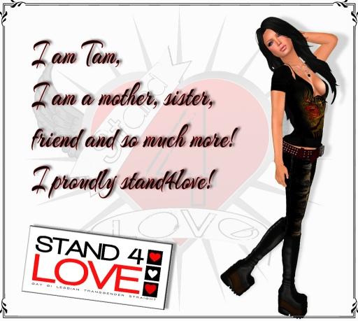 STAND4LOVE Tam by JenJen Sommerfleck