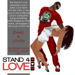 STAND4LOVE Tee Wylder-Hansom and TDOGG01 Hansom