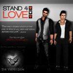 STAND4LOVE The Velvet Lion Kosh Wind and Logan Batista