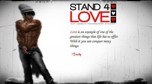 STAND4LOVE Tricky LeBon
