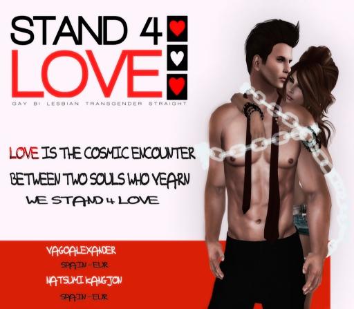 STAND4LOVE Vago Alexander and Natsumi Kangjon