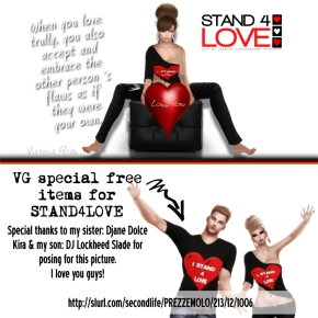 STAND4LOVE VICTORIA GRAU (VG SHOES)