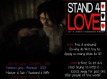 STAND4LOVE Zareth Lycia and Fatima Lycia