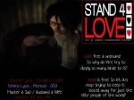 STAND4LOVE Zareth Lycia and Fatima Lycia