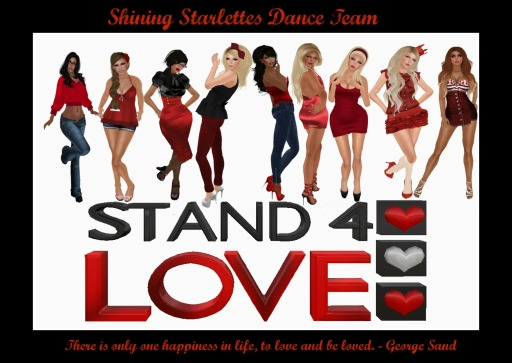 Shining Starlettes Stand for Love