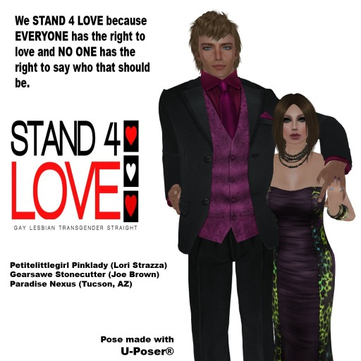 stand 4 love Petite Gear