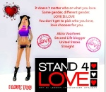 STAND4LOVE Akira Voorhees