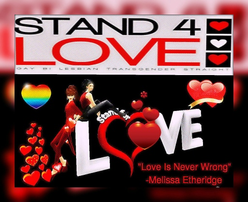 STAND4LOVE Becca and Anni