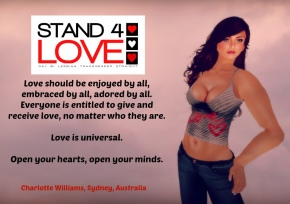STAND4LOVE Charlotte Williams